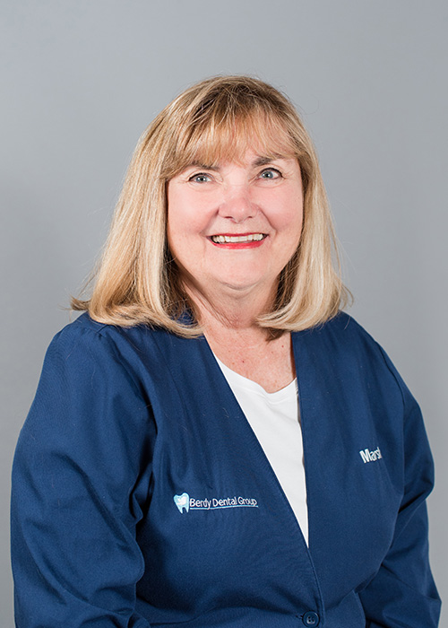 Marsha a Periodontal Surgical Assistant/Registered Nurse with Berdy Dental Group in Jacksonville, FL.